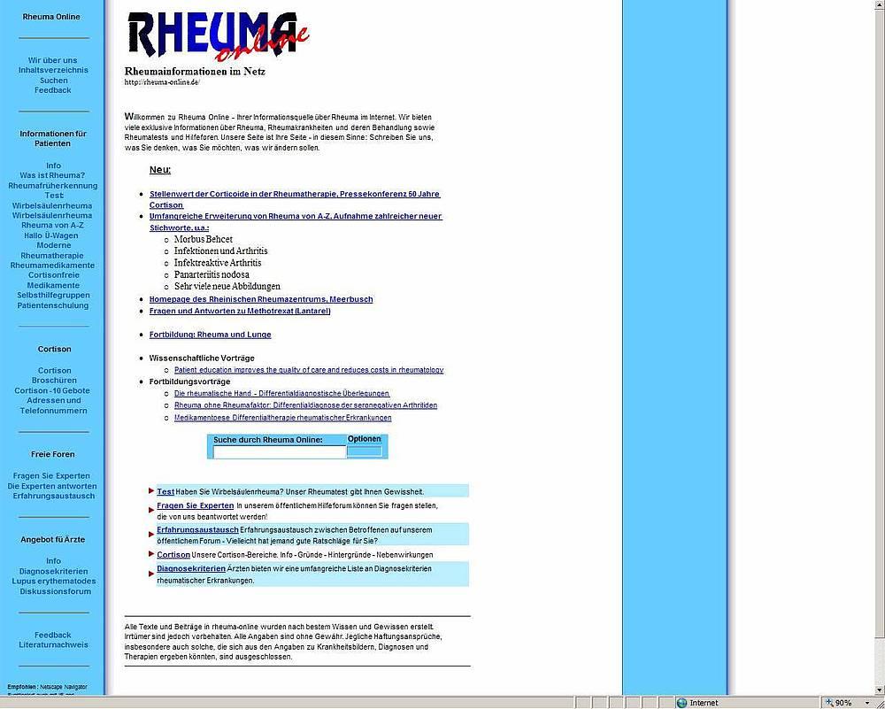 Rheuma Online Forum